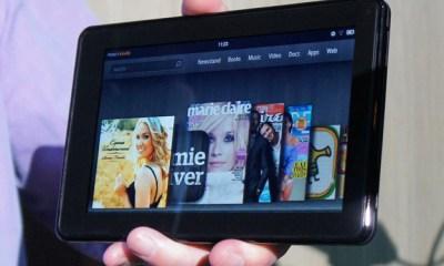 Amazon Kindle Fire landscape