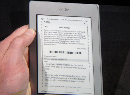 Kindle Touch X-Ray