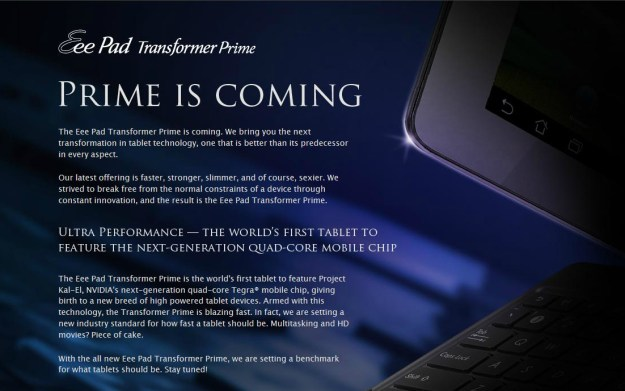 Eee Pad Transformer Prime