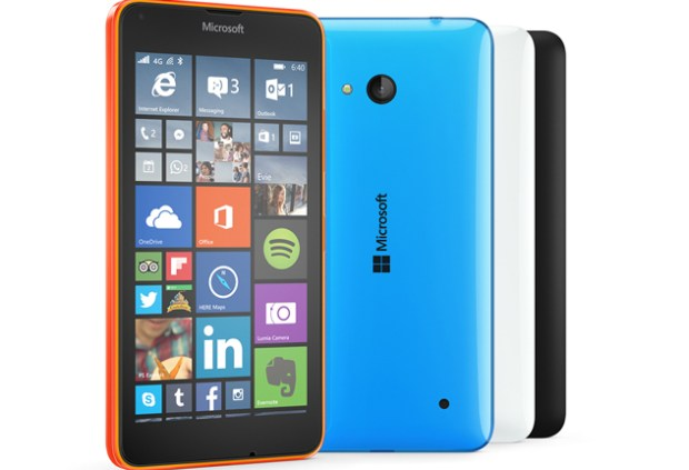 The Lumia 640.