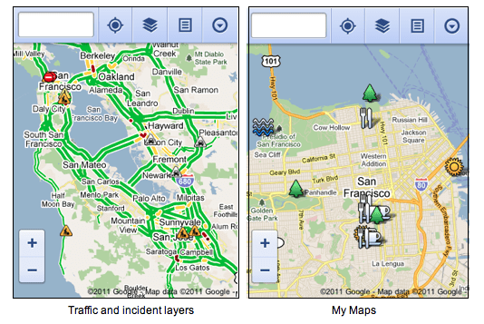 Google Maps for Mobile Browsers