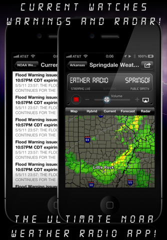 NOAA Weather Radio App