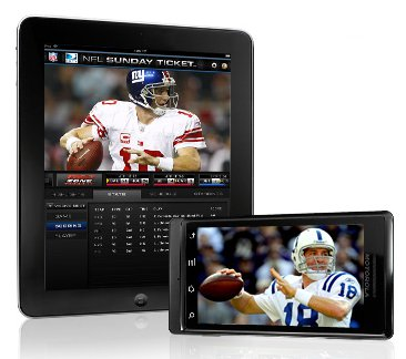 NFL Sunday Ticket on Android