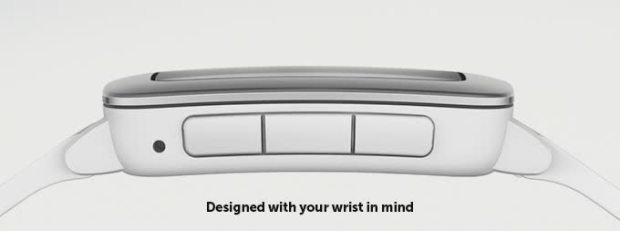 pebble time side buttons