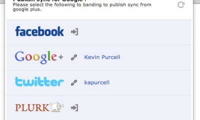 Publish Sync Chrome Browser Extension