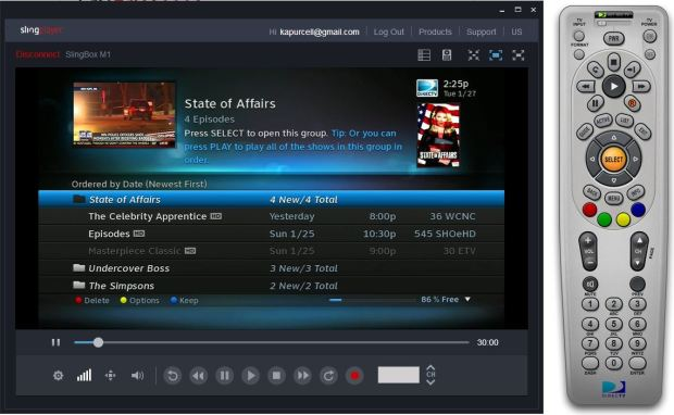 slingbox windows app