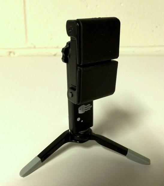 square jellyfish smartphone spring tripod mount closed