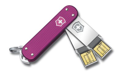 Victorinox Swiss Army Slim Duo Flash Drives