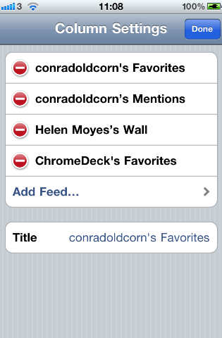 TweetDeck 2.0 for iPhone