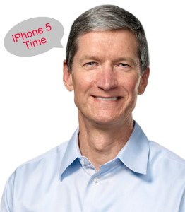 tim cook iPhone 5 release date