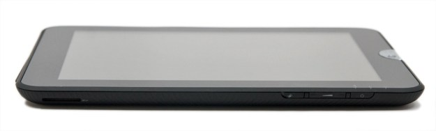 Toshiba Thrive Tablet - Edge and Power Button