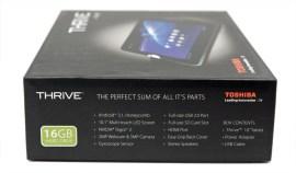 Toshiba Thrive Tablet - Box