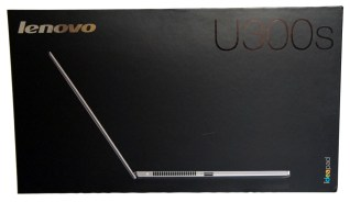 Lenovo IdeaPad U300s Ultrabook Box