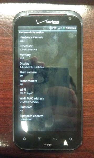 HTC Vigor