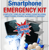 wet smartphone emergency kit