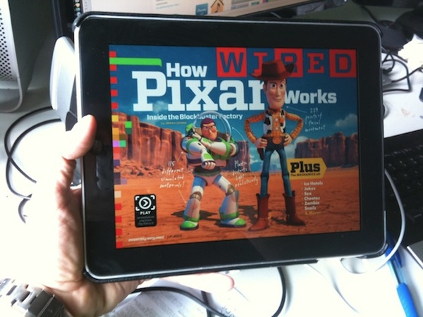 Wired ipad app