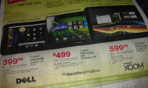 Staples bets big on tablets