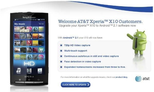 Xperia X10