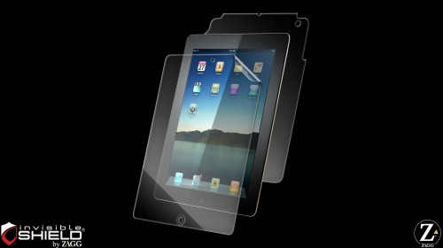 zagg ipad 2 invisible shield