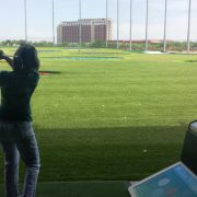Image of woman at Topgolf
