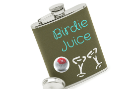 Image of birdie juice flask