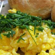 Image of egg scramble