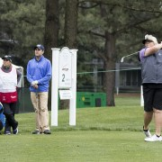 Image of plus-size woman golfer Laura Davies