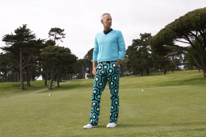 Image of Loudmouth founder Woody Woodward