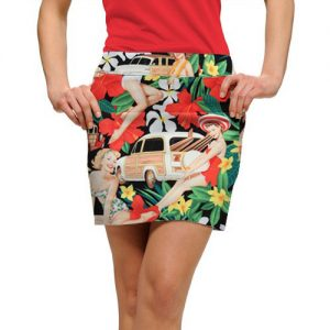 Image of Loudmouth Aloha Girls skort.