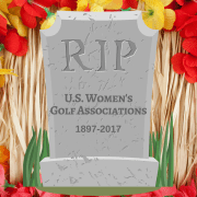 Image of women's golf association graphic