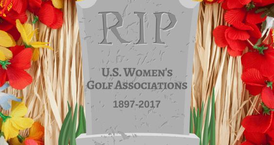 Image of women's golf association graphic