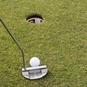 Image of putt near hole