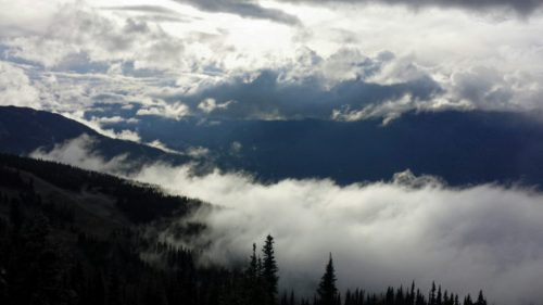 Image of view from Crystal Hut