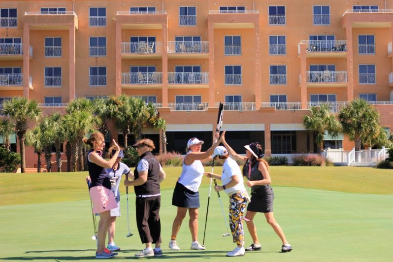 Image of Gulf Shores golf group