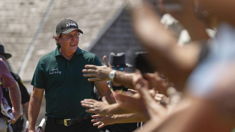 Image of Phil Mickelson