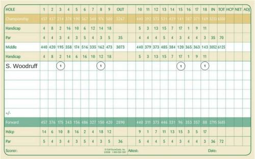 Image of Pasatiempo scorecard