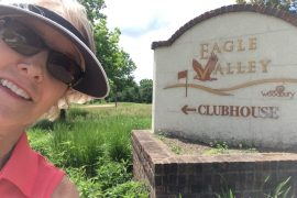 Image of the author at Eagle Valley