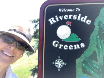 Image of Riverside Greens sign