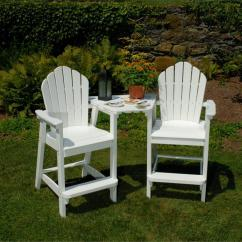 Poly Wood Adirondack Chairs Used Transport For Sale Seaside Casual Dining/bar Tete-a-tete Tabletop (032) - Gotta Have It! Inc.
