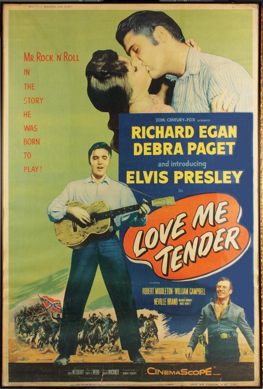 Image result for love me tender poster