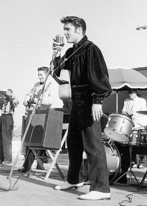 Lot Detail  Elvis Presley 1950s Stage Worn White Buck
