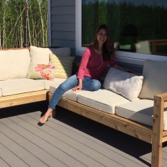 Outdoor Furniture Covers Sectional Sofa Grey Dfs How To Build A Cozy 2x4 For Patio