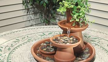 How To Make Indoor DIY Tabletop Water Fountains