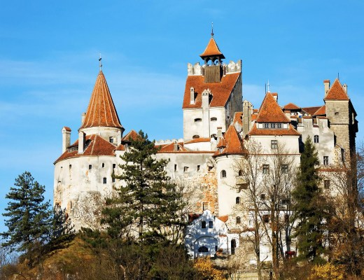 One of the most visited landmarks in Romania is Bran Castle aka Dracula's Castle