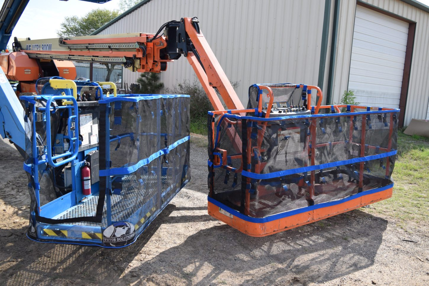 Full mesh for genie and JLG