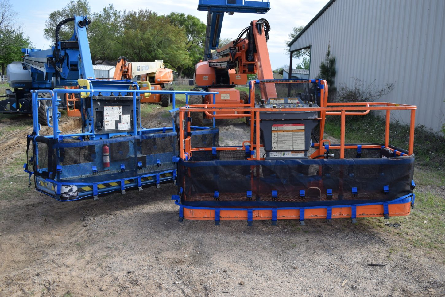 Half Mesh Products on Genie and JLG