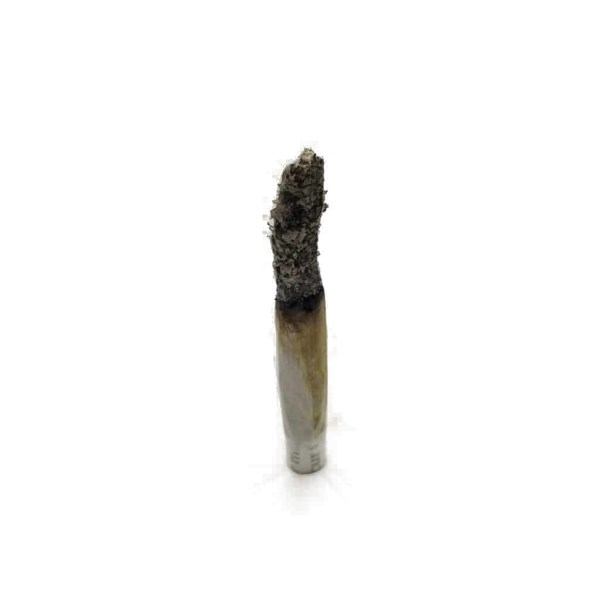 Gas mask joint ash