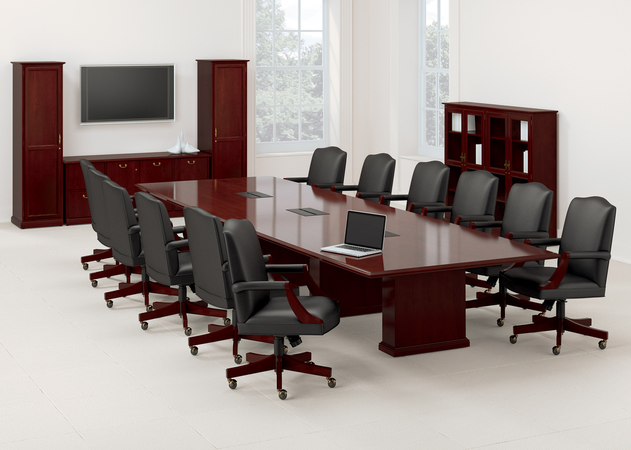 meeting room chairs eddie bauer high chair conference tables 10 styles to choose from ubiq