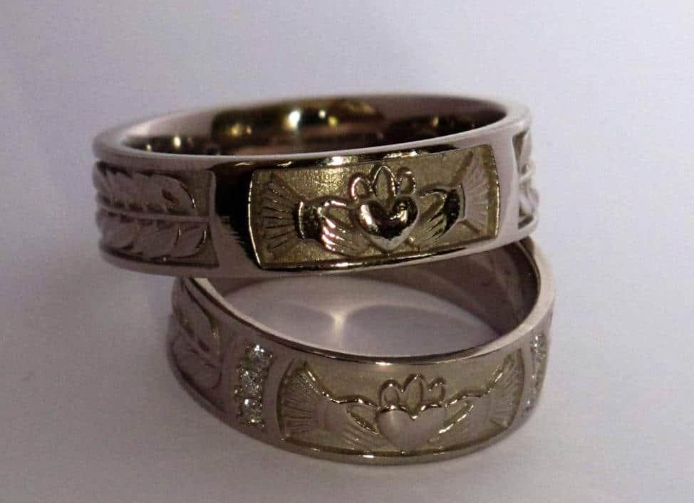 Claddagh ringen, tradioneel Ierse ringen