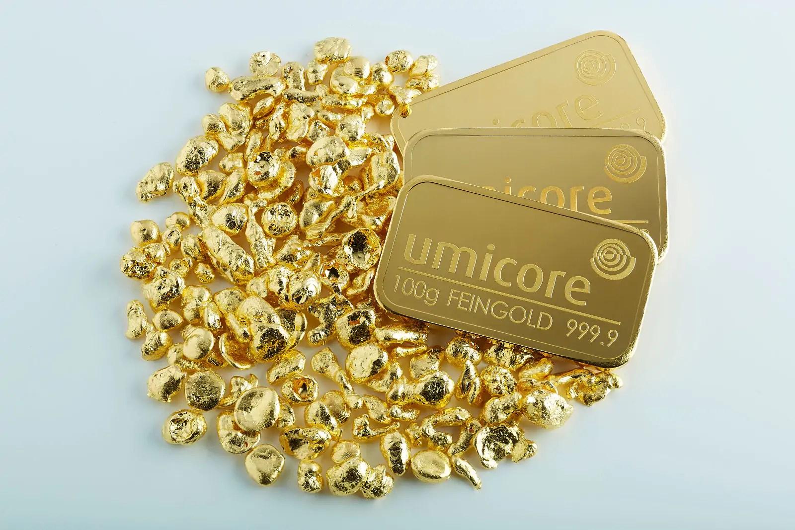 Goud kopen voor de beste prijs van Nederland. Goud kopen goudprijs Maple umicore